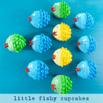 Little Fishy Cupcakes