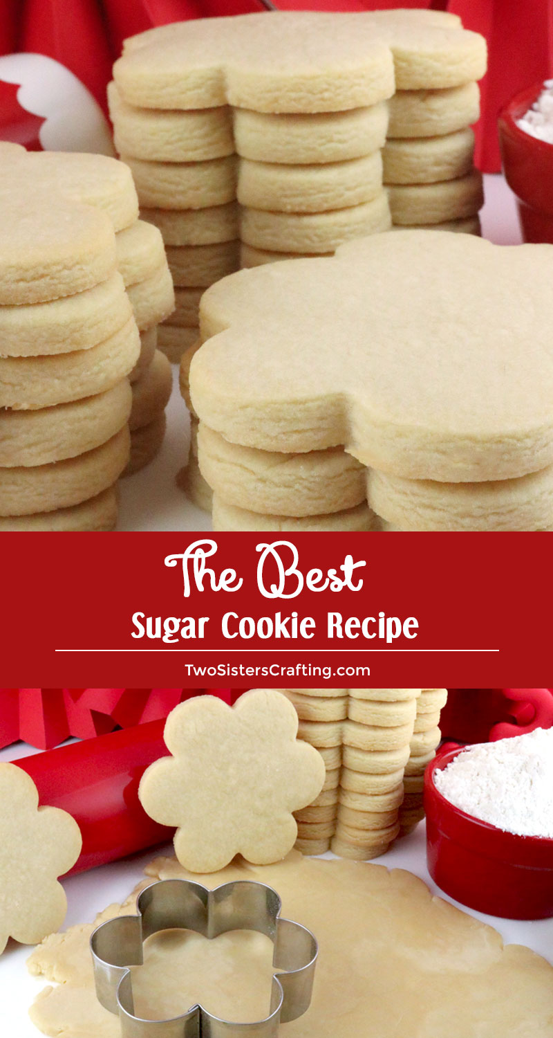 EchoPaul Official Blog: PERFECT SUGAR COOKIE CUT-OUTS |Soft Cut Out Sugar Cookie Recipe