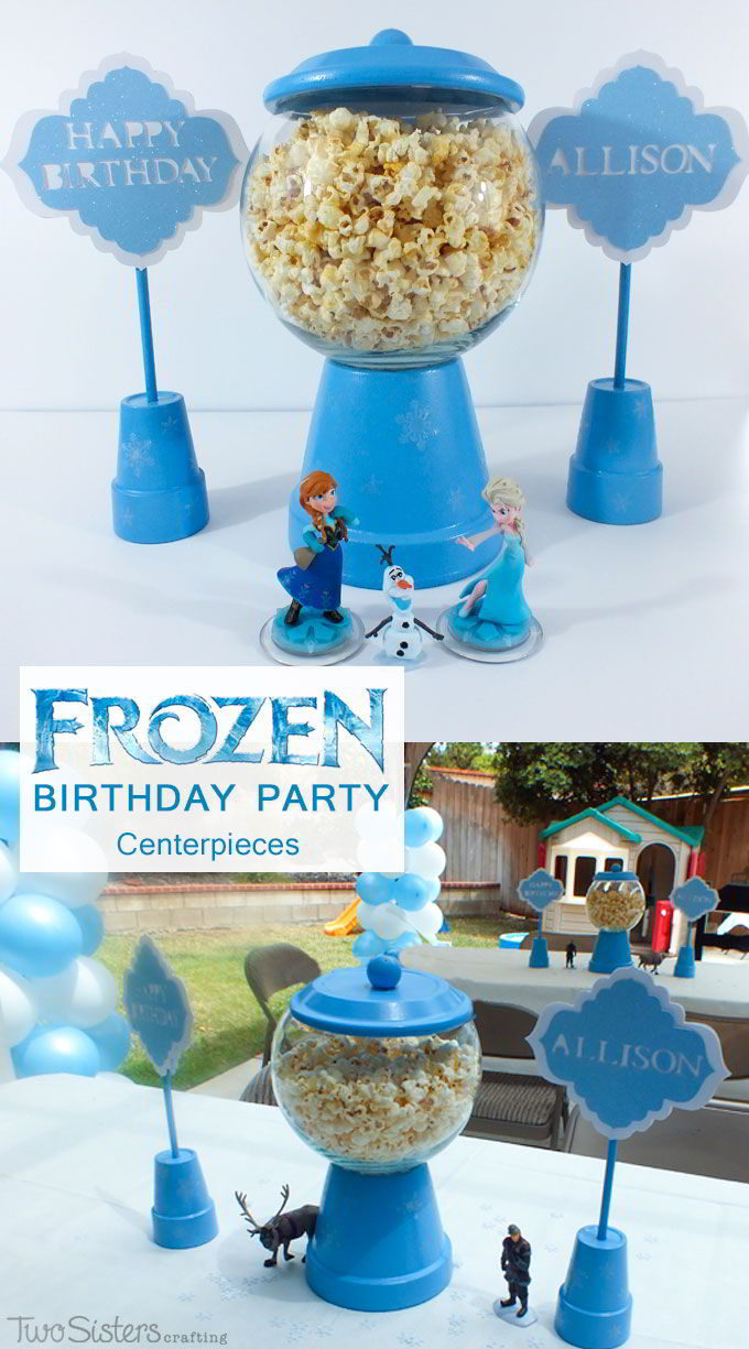 Disney Frozen Centerpiece Two Sisters Crafting