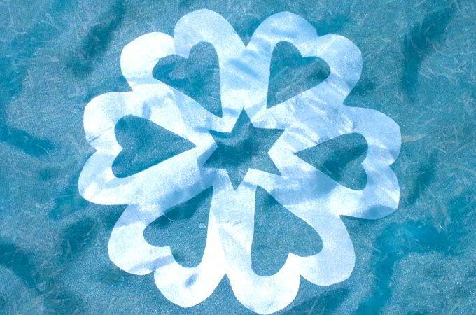 Detail of Snowflake Applique