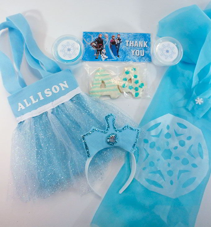Disney Frozen Elsa Party Favor Bags Two Sisters