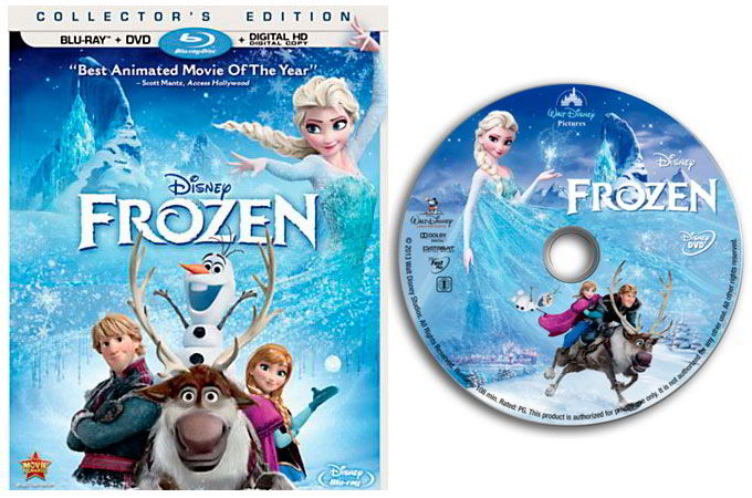 Disney Frozen Blu-Ray or DVD