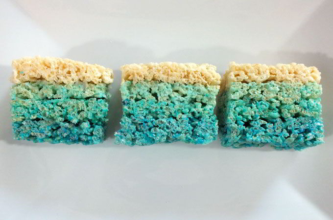 freezing rice krispie treats