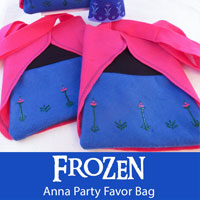 Frozen Anna Party Favor Bags