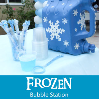 Disney Frozen Bubble Station