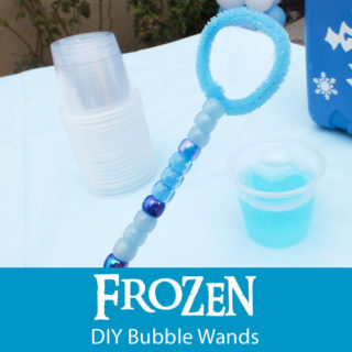 Disney Frozen DIY Bubble Wands