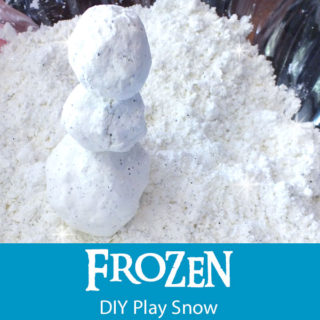 Frozen DIY Play Snow
