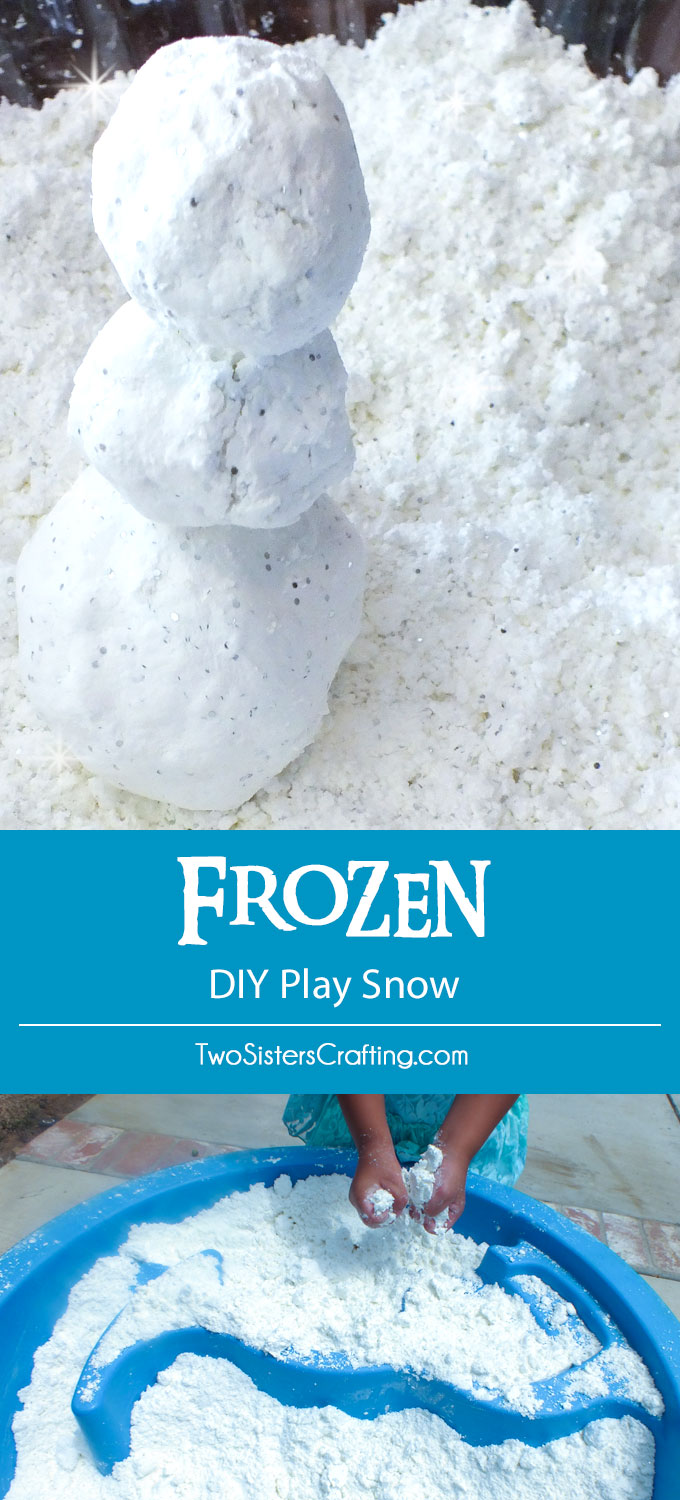 Coming Kids Snow Kast.Frozen Diy Play Snow Two Sisters