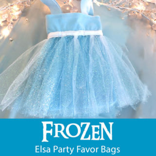 Disney Frozen Elsa Party Favor Bags
