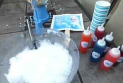 Frozen Homemade Snow Cones