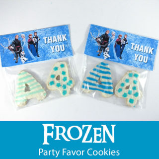 Frozen Party Favor Cookies