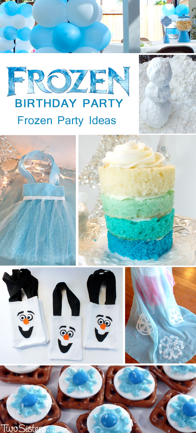 Disney frozen party ideas two sisters disney frozen party ideas solutioingenieria Image collections