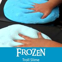 Frozen Troll Slime