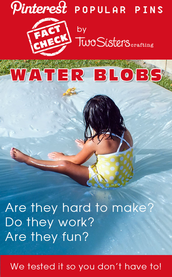 Do Water Blobs Work? - Pinterest Fact Check