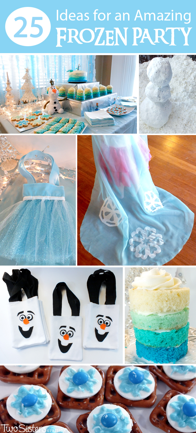 25 Ideas for an Amazing Frozen Party