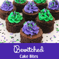 Bewitched Cake Bites