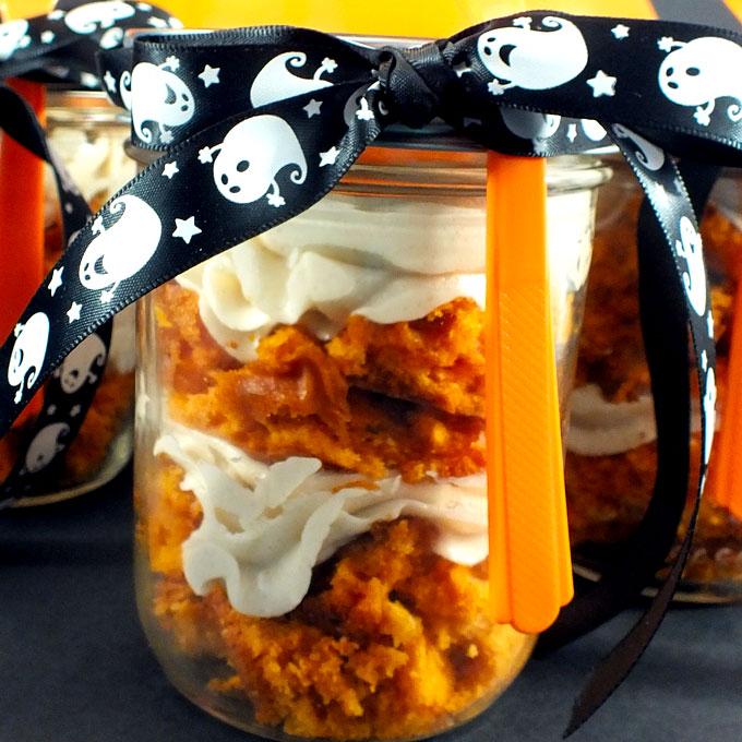 Cake In A Jar Microwave Recipe