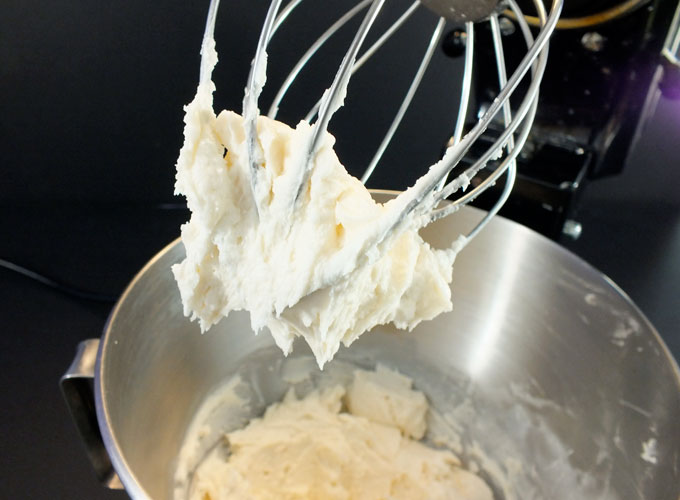 Making the Buttercream Frosting