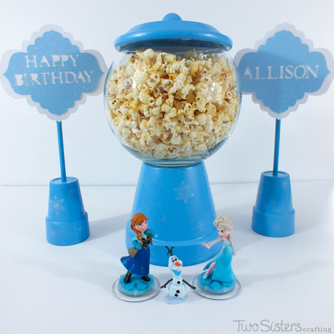 Disney Frozen Party Centerpieces