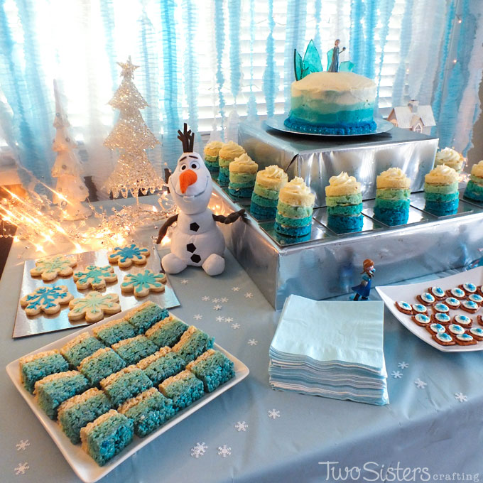 25 Ideas For An Amazing Frozen Party Two Sisters Crafting