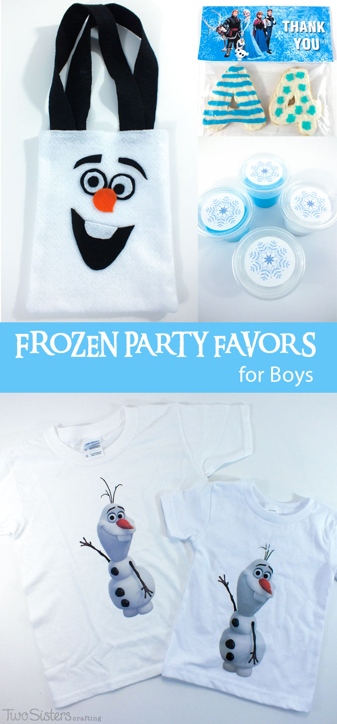 Disney Frozen Party Favors For Boys Two Sisters Crafting