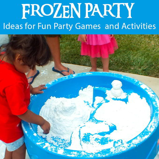 frozen party games and activities two sisters