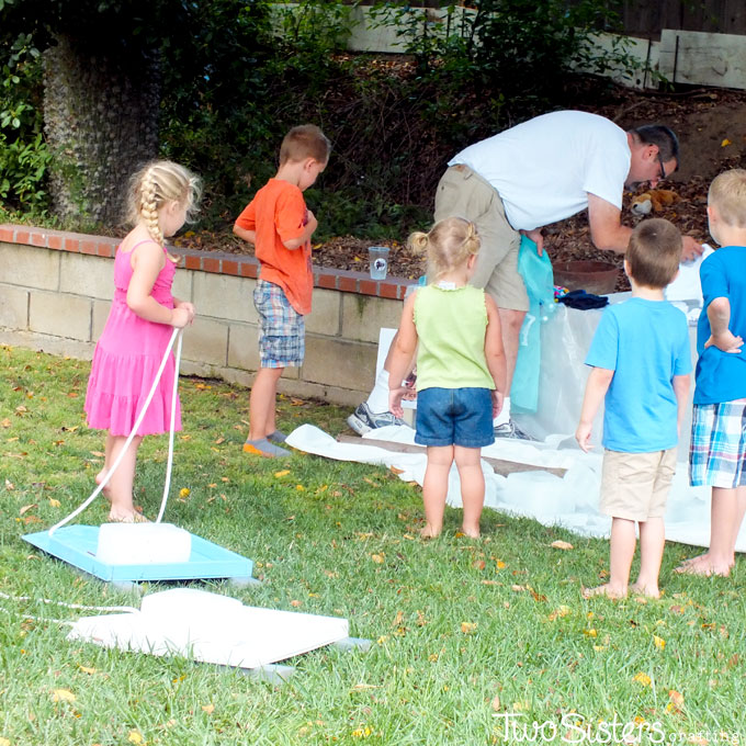 How To Throw A Frozen Party In Summer