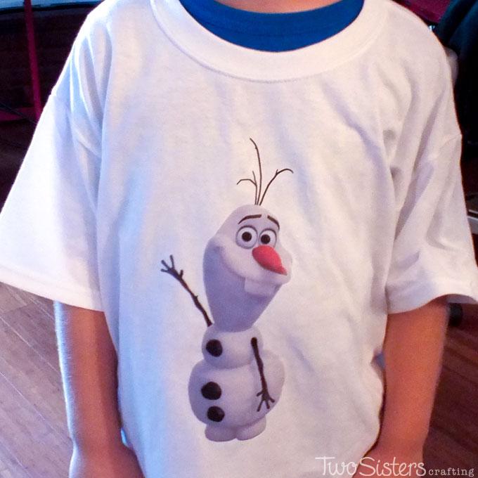 Disney Frozen Olaf Shirt Party Favor