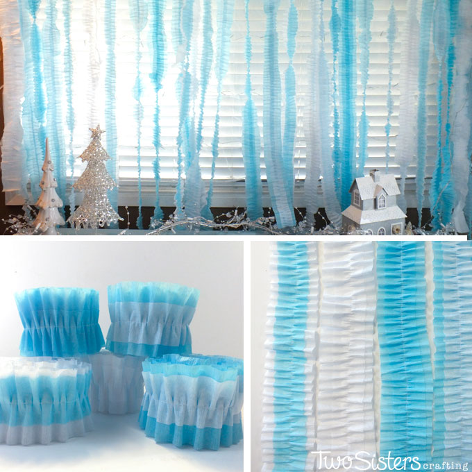 Disney Frozen Party Ruffled Streamers