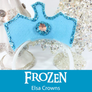 Disney Frozen Elsa Crowns