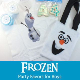Disney Frozen Party Favors for Boys