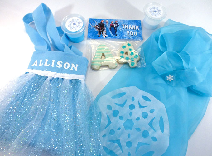 Frozen Party Favors For Girls