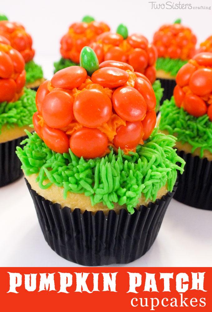 halloween pumpkin patch cupcakes - Easy Halloween Cupcake Decorating Ideas