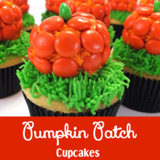 Halloween Pumpkin Patch Cupcakes