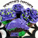 Bewitched Cupcakes for Halloween