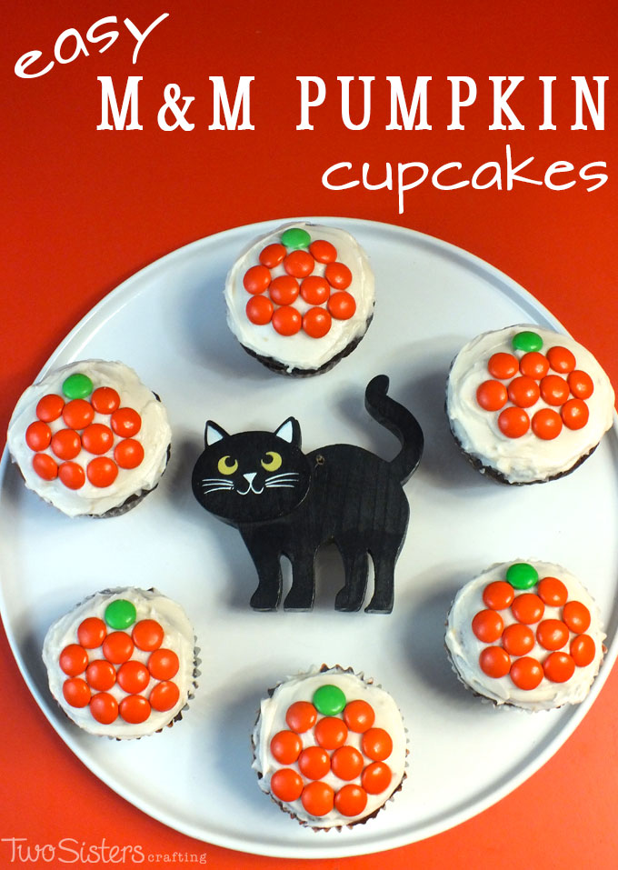 Pumpkin Cupcakes With Yellow Cake Mix And Pudding