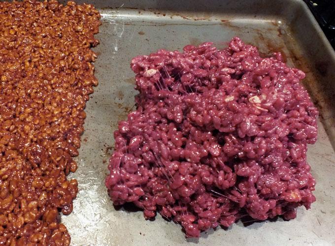 Fall Leaves Rice Krispie Treats - Two Sisters