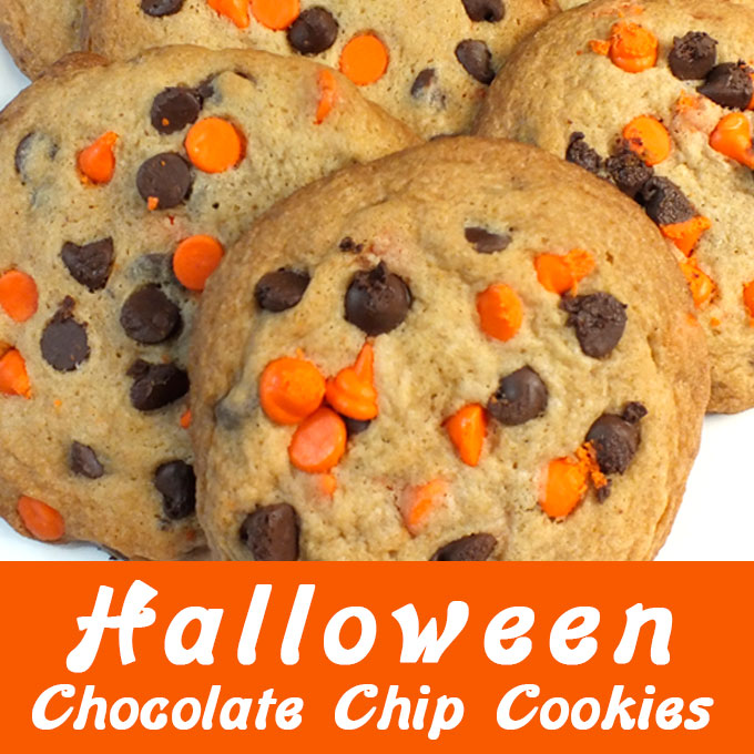 Halloween Chocolate Chip Cookies Two Sisters Crafting