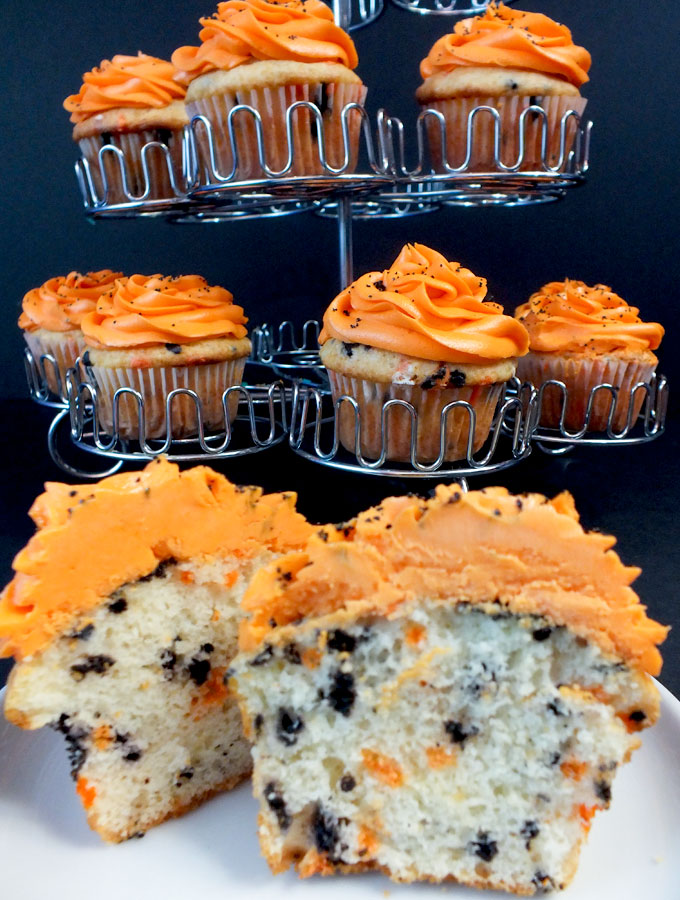 our easy homemade halloween funfetti cupcakes taste so great and are a festive addition to any - Easy To Make Halloween Cakes