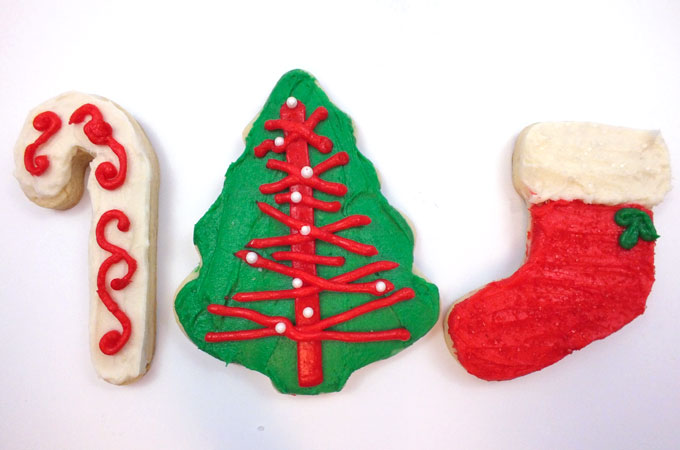 decorating christmas cookies is our favorite holiday tradition and we have the best sugar cookie and