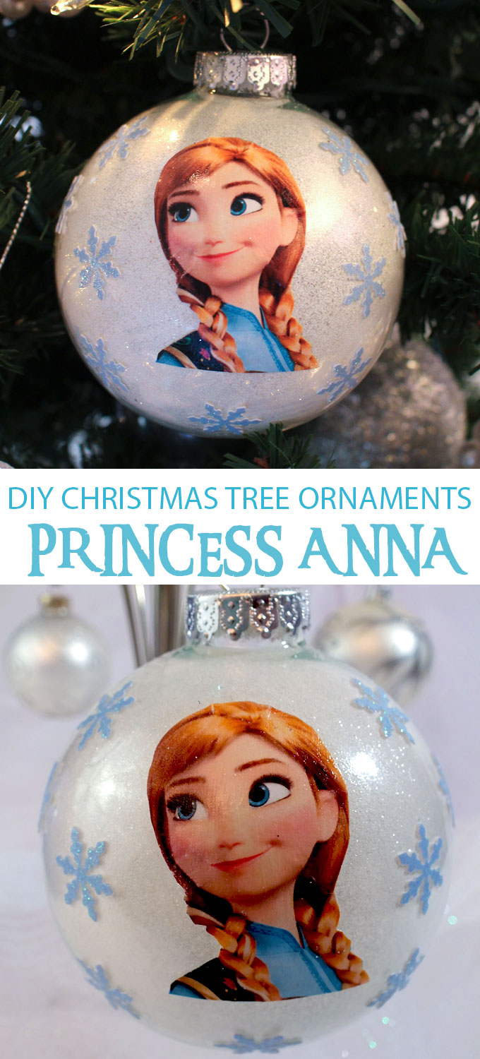 Frozen Anna Christmas Tree Ornaments