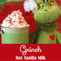 Grinch Hot Vanilla Milk