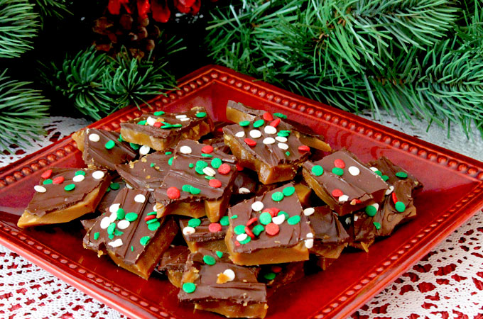 homemade english toffee two sisters