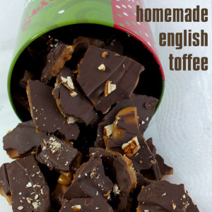 Homemade English Toffee Two Sisters Crafting