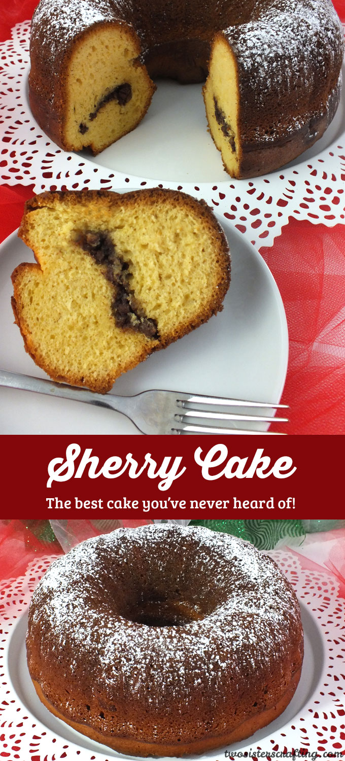 Sherry Cake - Two Sisters Crafting