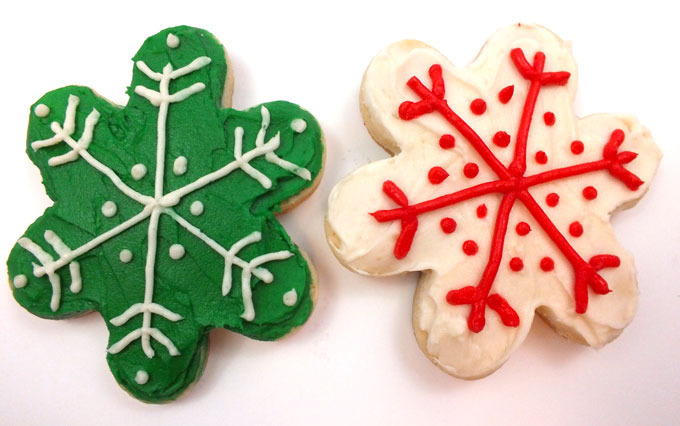 The First Frosted Sugar Cookies on Christmas Eve-Eve