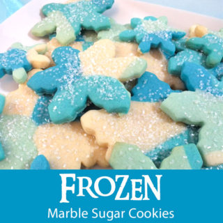Frozen Marble Sugar Cookies