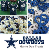 Dallas Cowboys Game Day Treats