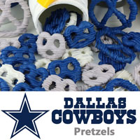 Dallas Cowboys Pretzels