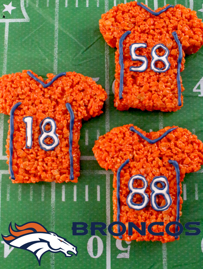 brand new 8679e f5052 Denver Broncos Rice Krispie Treats - Two Sisters